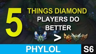Download 5 things diamond players do better than low elo ones - League of Legends Video