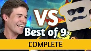 Download (Hearthstone) Kibler VS Disguised Toast: Un'Goro Best of 9 ALL GAMES Video