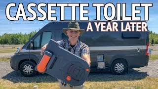 Download Cassette Toilet Review - What Is it? How Do You Use it? Where Do You Dump It? Video