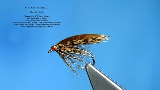 Download Tying Robin Twm's Small Sedge (Traditional Welsh Wet Fly) with Davie McPhail Video