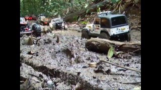 Download SG Crawler RC Trail Adventures - 8 Trucks Scaling at Upper Peirce Reservoir - 03 July 2011 (Part 1) Video