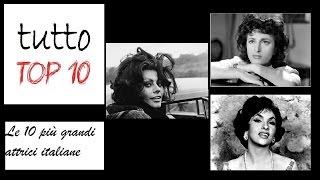 Download Le 10 più grandi attrici italiane Video