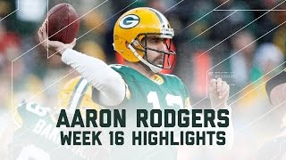 Download Aaron Rodgers 347 Pass Yards & 5 Total TDs! | Vikings vs. Packers | NFL Week 16 Player Highlights Video