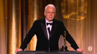 Download Steve Martin receives an Honorary Award at the 2013 Governors Awards Video