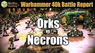 Download Orks vs Necrons Warhammer 40K Battle Report Ep 11 Video