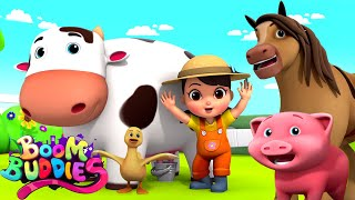 Download Old MacDonald Had A Farm | Farm Song For Kids | Children Nursery Rhymes By Boom Buddies Video