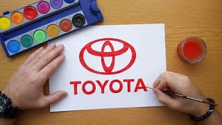 Download How to draw Toyota logo Video