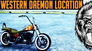 Download GTA 5 Western Daemon Location & GTA 5 Insurance Glitch ( GTA V RARE MOTORCYCLE) Video