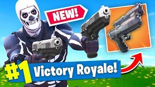 Download *NEW* DUAL WIELDED PISTOLS Gameplay In Fortnite Battle Royale! Video