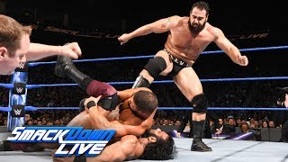 Download Randy Orton & Bobby Roode vs. Jinder Mahal & Rusev: SmackDown LIVE, March 27, 2018 Video