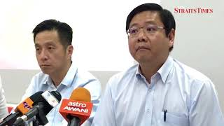Download Penang BN claims Guan Eng 'lied on four issues' over undersea tunnel project Video