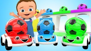 Download Learn Colors for Children with Baby 3D SoccerBalls Toy Cars Kids Toddler Educational Learning Video