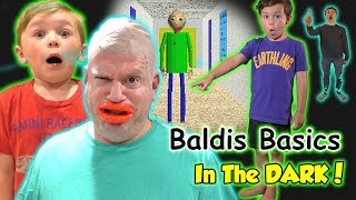 Download Baldi Basics in Real Life in the Dark! We Get All Problems Wrong! | DavidsTV Video