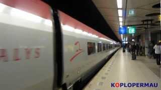 Download Thalys remt hard af op Schiphol! Video