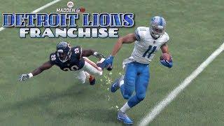 Download Madden NFL 18 Detroit Lions Franchise - Detroit Lions vs Chicago Bears (EP10 Lions vs Bears) Video