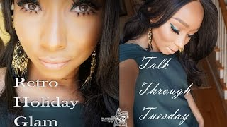 Download Retro Holiday Glam Talk Through Tuesday Video