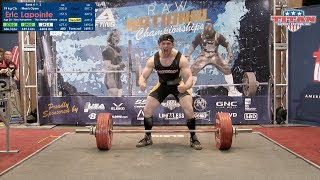 Download Eric LaPointe - 2017 USAPL Raw Nationals 74kg Open Bronze Medalist Video