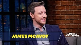 Download James McAvoy Really Admires Samuel L. Jackson Video