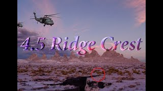 Download 4.3 BlackHawk and 4.5 RidgeCrest EarthQuake Video