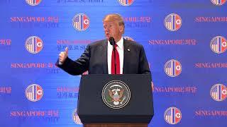 Download Trump-Kim summit: Kim Jong Un commits to denuclearisation, says Trump Video