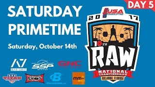 Download Primetime Saturday - 2017 USA Powerlifting Raw Nationals Video