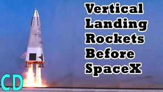 Download Vertical Landing Rockets Before SpaceX Video