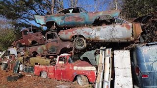 Download World's Largest and Most Amazing Junk Yard - Old Car City U.S.A. Video