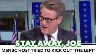 Download Joe Scarborough Says He Tried To Kick 'The Left' Off MSNBC Video