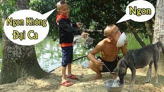 Download Mao Đệ Đệ Chế Biến Cháo Chó Cho Mao Ca Ăn - Tưởng Không Ngon Mà Ngon Không Tưởng ( Dog food ) Video