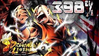 Download 398% KRILLIN SHOWCASE! The Greatest Husband | Dragon Ball Legends Video