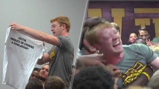 Download Walk-Ons Being Awarded Scholarships Video