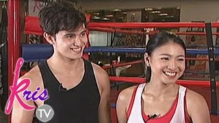 Download Kris TV: Kris and JaDine go fit and fab with boxing Video