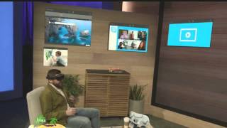 Download Microsoft HoloLens demo onstage at BUILD 2015 Video