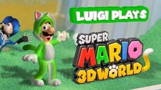 Download Luigi Plays: SUPER LUIGI 3D WORLDDD Video
