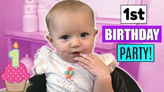 Download BABY GEMMA'S FIRST BIRTHDAY PARTY! Video