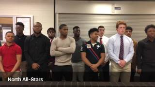 Download Phil Simms addresses players at North-South All-Star Football Classic meeting Video