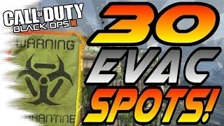 Download ALL 30 EVAC Spots & Glitches! - Ledges, Hiding Spots, and Lines of Sight (Black Ops 3) Video