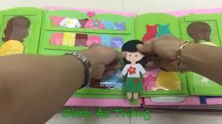 Download Quiet Book - Sách vải cho bé (2)- sách vải của bé Lena-Bảo Ngân Video
