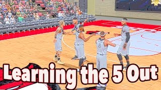 Download NBA 2K17 Pro AM | Learning The 5 Out Offense | I Didn't Know What To Do Video