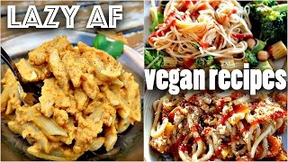 Download EASY VEGAN RECIPES FOR LAZY PEOPLE (10 minute dinners) Video