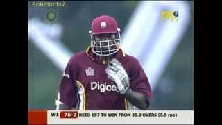 Download Gayle & Lara magical 151 run partnership in 19 overs vs Australia 2006 Video