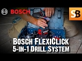 Download Bosch FlexiClick 5-in-1 Cordless Drill System Video