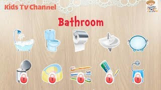 Download 384 Puzzles for Preschool Kids - Children Learn Bathroom equipment | Kids Puzzles Games | Kid Games Video