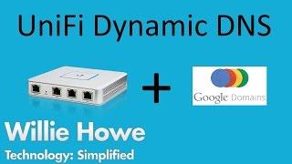 Download UniFi Dynamic DNS w/Google & UniFi 5.4.15 Released! Video