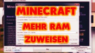Download Minecraft mehr Ram zuweisen - Mehr FPS [Minecraft deutsch] Video