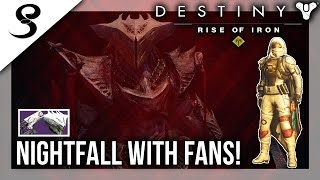 Download Destiny - NIGHTFALL WITH FANS! WEEKLY RESET! (XB1) Video