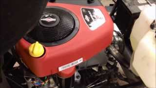 Download Briggs & Stratton Intek 15.5HP OHV, first startup Video