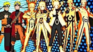 Download Naruto Uzumaki - All Evolutions Video