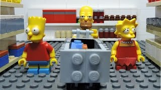 Download the Lego Simpsons ″Simpsons at shopping″ animation Video