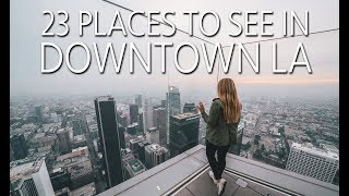 Download 23 Things to Do in Downtown Los Angeles Video
